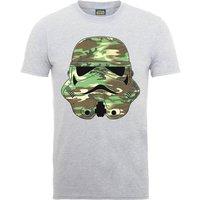 Star Wars Stormtrooper Camo T-Shirt - Grey - L - Grey