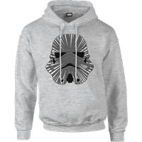 Star Wars Hyperspeed Stormtrooper Pullover Hoodie - Grey - M