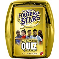 Top Trumps Quiz Game - World Football Stars Edition
