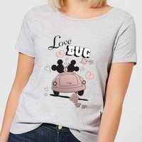 Disney Mickey Mouse Love Bug Women's T-Shirt - Grey - 4XL