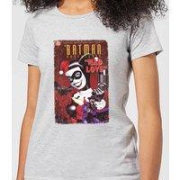 DC Comics Batman Harley Mad Love Women's T-Shirt in Grey - XXL - Grey - Batman Gifts