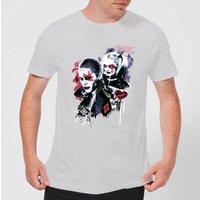 DC Comics Suicide Squad Harleys Puddin T-Shirt - Grey - 5XL - Grey