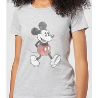 Disney Mickey Mouse Walking Women's T-Shirt - Grey - XXL - Grey - Walking Gifts