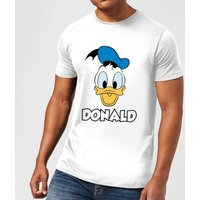 Disney Mickey Mouse Donald Face T-Shirt - White - 5XL
