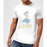 Disney Mickey Mouse Donald Duck Classic T-Shirt - White - 5XL - White