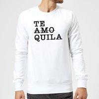 Te Amo/Quila Sweatshirt - White - XL - White