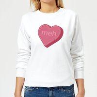 Meh Women's Sweatshirt - White - M - White