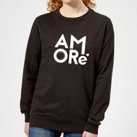 Amore Women's Sweatshirt - Black - S - Black