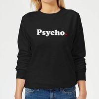 Psycho Women's Sweatshirt - Black - XS - Black