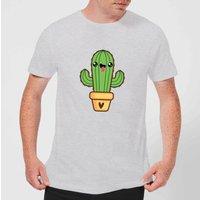 Cactus Love T-Shirt - Grey - XXL - Grey