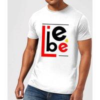 Liebe Block T-Shirt - White - L - White