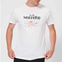 Eres Mi Unicornio T-Shirt - White - M - White