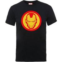 Marvel Avengers Assemble Iron Man T-Shirt - Black - S