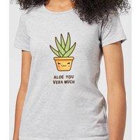 Aloe You Vera Much Women's T-Shirt - Grey - XXL - Grey