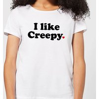 I Like Creepy Women's T-Shirt - White - 3XL - White