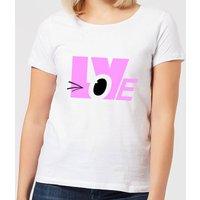 Love Wink Women's T-Shirt - White - XXL - White