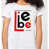 Liebe Block Women's T-Shirt - White - 3XL - White