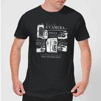 Life Is Like A Camera T-Shirt - Black - S - Black