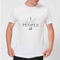 I Shoot People T-Shirt - White - XL - White