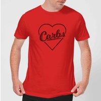 Love Carbs T-Shirt - Red - S - Red