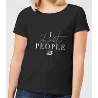 I Shoot People Women's T-Shirt - Black - M - Black
