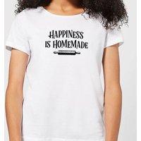 Happiness Is Homemade Women's T-Shirt - White - 4XL - White