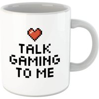Talk Gaming To Me Mug - Computer Games Gifts