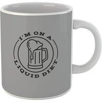 Liquid Diet Beer Mug - Beer Gifts