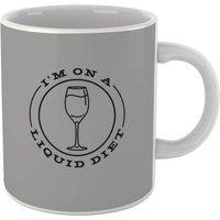 Liquid Diet Wine Mug - Alcohol Gifts