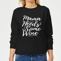 Mama Needs Some Wine Women's Sweatshirt - Black - XXL - Black - Alcohol Gifts