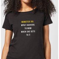 Momster Women's T-Shirt - Black - M - Black