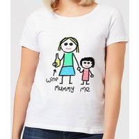 Mummy & Me Women's T-Shirt - White - 3XL - White