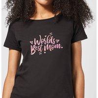 Worlds Best Mom Women's T-Shirt - Black - XXL - Black - Grandma Gifts