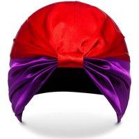 SILKE Hair Wrap The Dita - Purple and Red