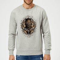 Black Panther Gold Erik Sweatshirt - Grey - XL