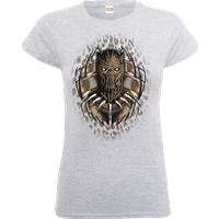 Black Panther Gold Erik Women's T-Shirt - Grey - XXL - Grey