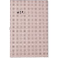 Design Letters A3 Message Board - Pink