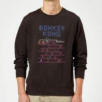 Nintendo Donkey Kong Retro Sweatshirt - Black - XXL - Black