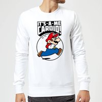 Nintendo Super Mario Cardio Sweatshirt - White - L - White