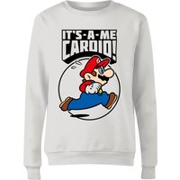 Nintendo Super Mario Cardio Women's Sweatshirt - White - XXL - White