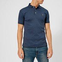 Polo Ralph Lauren Men's Slim Fit Soft Cotton Polo Shirt - Spring Navy Heather - M - Navy