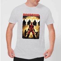 Marvel Deadpool Target Practice T-Shirt - Grey - L - Grey