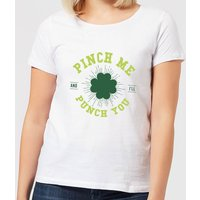 Beershield Pinch Me And Ill Punch You Women's T-Shirt - White - XL - White