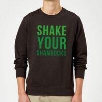 Shake Your Shamrocks Sweatshirt - Black - XXL - Black