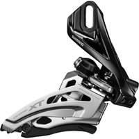 Shimano Deore XT M8025 Double Front Derailleur - Direct Mount - Down Swing - Dual Pull