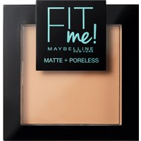 Maybelline Fit Me! Matte and Poreless Powder 9g (Various Shades) - 220 Natural Beige