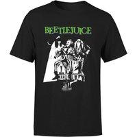 Beetlejuice Mono Poster T-Shirt - Black - XS