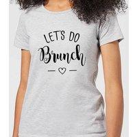 Lets Do Brunch Women's T-Shirt - Grey - XL - Grey