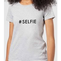 Selfie Women's T-Shirt - Grey - L - Grey
