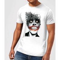 Batman Joker Face Of Bats T-Shirt - Weiß - 3XL - Weiß
